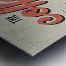 Coffe wallpaper grunge style always fresh always hot vintage retro poster Metal print