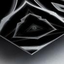 Monochrome Graffiti Metal print