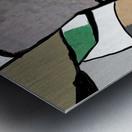 Meeting of Colors Metal print