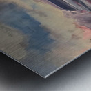 Watercolor Beachscape Metal print