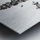 Castellini di Luna Metal print