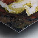 Helena_ oil painted with spatula Metal print