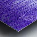 Blue Sticks Metal print