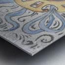 Florentia_ Crest - fresco Metal print