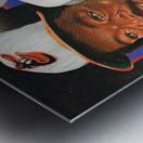 1986 Baltimore Orioles Media Guide Canvas Impression metal