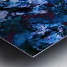 Smouldering blue Impression metal