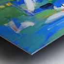 Azure Ascent Metal print