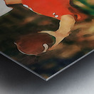 Miami Hurricanes Jim Kelly Art Metal print