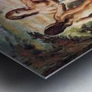 Judgement of Paris by Cezanne Metal print
