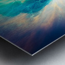 The Crab Nebula Bridge Metal print