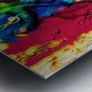 Flute Electrified Metal print