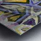 Biophilian Mystique Texture  Metal print