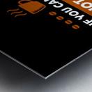 Hot Coffee Survival Condition Metal print