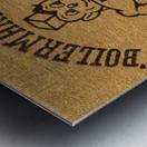 1950s Purdue University Boilermaker Pete Art Metal print
