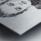 Selena Gomez - Celebrity Pencil Art Metal print