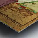 Paper trail Metal print