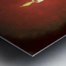 Crimson Dawn copy Metal print