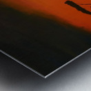 Sunrise of Serengeti Metal print