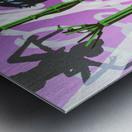 B.L Metal print