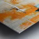 MCM urban II Metal print
