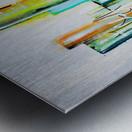 Blue Hawai II Metal print