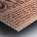 1927 cornell penn ivy league football ticket stub collection Metal print