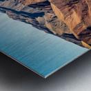 Death Valley mountain Metal print