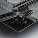 Chrome Sharkfin Metal print