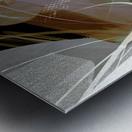 A M U Metal print