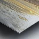 Oak Island Pier View Metal print