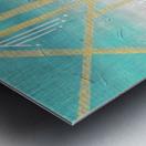 Art deco geometric II Metal print