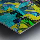 Hyperkaleidoscopically Metal print
