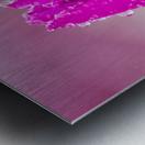 Pink Tulip II Metal print
