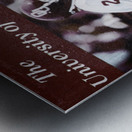 1979 billy sims oklahoma sooners football poster Metal print