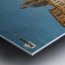 The Piazza Navona Metal print