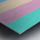 Pastel Palette Metal print