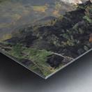 Rogue River Canyon Metal print