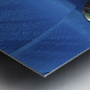 BMW BLU REIGN Metal print