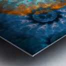 Pendant of winter sun Metal print