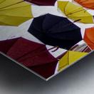 parapluies Metal print
