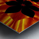 Fire Flowers 89 Metal print