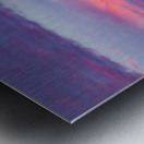 Light Banding Metal print