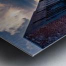 Convergence Metal print