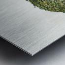 Ying yang Metal print