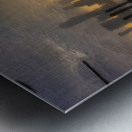 NYSunset Metal print