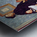 Portait of the Bellelli family by Degas Metal print