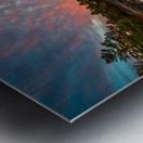 Mountain Rd Pond Metal print