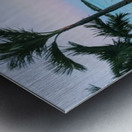 Sunset in Highbourne Cay Metal print