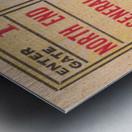 1938 TCU vs. SMU Metal print