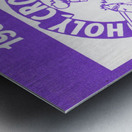 1987 Holy Cross Football Metal print